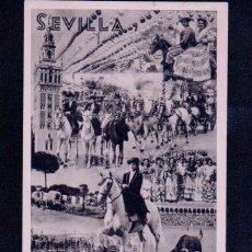 Postales: SEVILLA.FIESTAS PRIMAVERALES.FOTO SERRANO.IMP.FOURNIER.. Lote 46562600