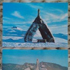 Postales: LOTE 2 POSTALES DE VIRGEN DE LAS NIEVES. SIERRA NEVADA. GRANADA. SIN MATASELLOS. ESCRITA POR DETRÁS. Lote 46613615