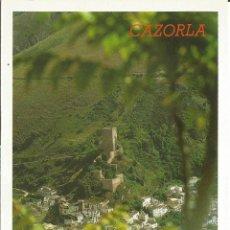 Postales: POSTAL CASTILLO DE LA YEDRA - CAZORLA - JAEN Nº67. Lote 46936725