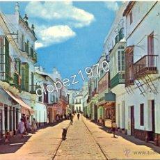 Postales: CHICLANA DE LA FRONTERA, CADIZ, CALLE JOAQUIN ARBOLÍ, EDIT.BEASCOA, MUY RARA. Lote 46969281