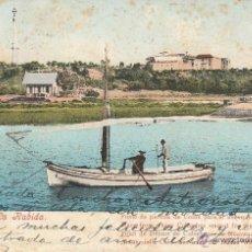 Postkarten - Nº 21083 POSTAL HUELVA LA RABIDA PUNTO DE PARTIDA DE COLON PARA EL NUEVO MUNDO SIN DIVIDIR - 47068404