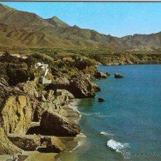 Postales: NERJA (MÀLAGA), PLAYA DE CALAHONDA - ESCUDO DE ORO Nº 10 - SIN CIRCULAR. Lote 47264276