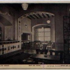 Postales: POSTAL JEREZ DE LA FRONTERA CADIZ ANDALUCIA HOTEL LOS CISNES BAR ED. RIEUSSET N0 9. Lote 47429270