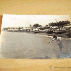 Postales: MARBELLA ( MALAGA ) PLAYA DE EL FARO. Lote 47443262