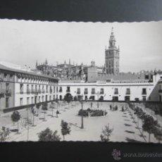 Postales: POSTAL SEVILLA. REALES ALCÁZARES. PATIO DE BANDERAS. CIRCULADA. Lote 47610580