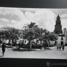 Postales: POSTAL SEVILLA, UTRERA. PLAZA DE ENRIQUE DE LA CUADRA. CIRCULADA. Lote 47610731