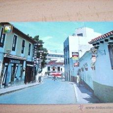 Postales: TORREMOLINOS ( MALAGA ) CALLE CAUCE. Lote 47638310
