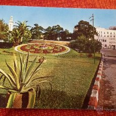 Postales: POSTAL CADIZ - RELOJ FLORAL Y PLAZA ESPAÑA - Nº60. Lote 47643139
