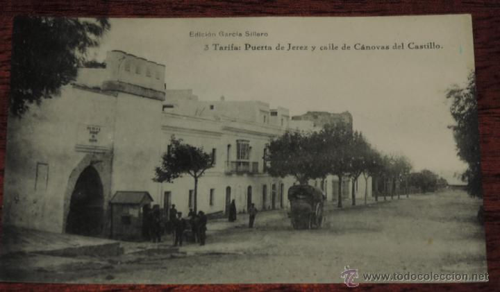 Postal de tarifa cadiz n 3 puerta de jerez vendido for Calle prado jerez 3 navacerrada