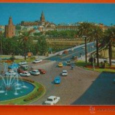 Postcards - POSTAL - SEVILLA - PLAZA DE CUBA 1973 - BEASCOA - NO CIRCULADA - 47692605