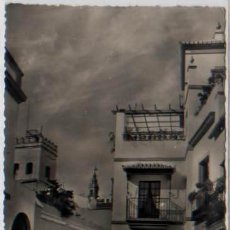 Postales: POSTAL SEVILLA LAS CADENAS ENTRADA AL BARRIO DE SANTA CRUZ ED. HAE N0 144 . Lote 47779700