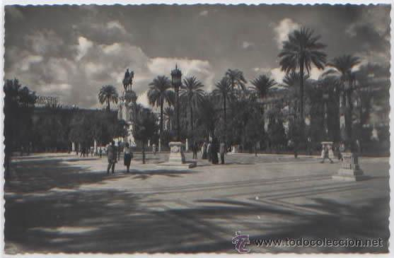 POSTAL SEVILLA PLAZA NUEVA ED. HAE N0 42 (Postales - España - Andalucia Moderna (desde 1.940))