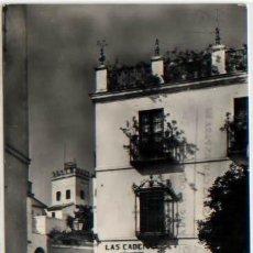 Postales: POSTAL SEVILLA LAS CADENAS ENTRADA AL BARRIO DE SANTA CRUZ ED. HAE N0 177 - 1958. Lote 47780181