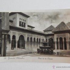 Postales: GRANADA, ALHAMBRA: PATIO DE LOS LEONES. Lote 47787777