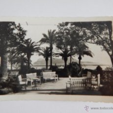 Postales: ALGECIRAS: JARDINES DEL HOTEL CRISTINA. Lote 47810543