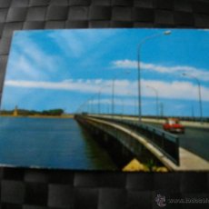 Postales: POSTAL DE HUELVA PUENTE SOBRE RIO TINTO BONITAS VISTAS MIRA TODOS MIS ARTICULOS EL RINCON DE JJ. Lote 47860947