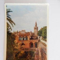 Postales - * Sevilla: La Giralda desde los Reales Alcázares - 47912747