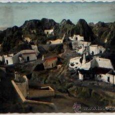 Postales: POSTAL GUADIX VISTA DE CUEVAS GRANADA ED. PEREZ RUIZ N0 7 COLOREADA. Lote 47915336