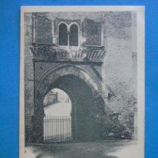 Postales: POSTAL DE GRANADA. SIGLO XIX. ALHAMBRA, PUERTA DEL VINO. 61 HAUSER MENET. 806. Lote 255922320