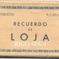 Postales: LOJA (GRANADA).- ÁLBUM COMPLETO -10 POSTALES. Lote 48072404