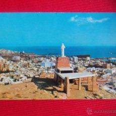 Postales: MONUMENTO AL SAGRADO CORAZÓN DE JESÚS - ALMERÍA. Lote 48188620