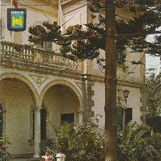 Postales: LA LINEA DE LA CONCEPCION (CADIZ), AYUNTAMIENTO Y JARDINES, EDITOR: SUBIRATS CASANOVA Nº 14. Lote 48188937