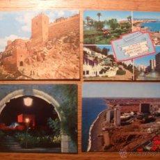 Postales: ALMERIA. AÑOS 60-70. SE PUEDEN VENDER SUELTAS. Lote 48200199