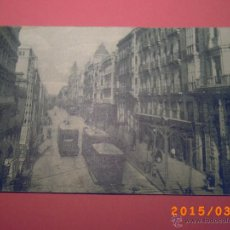 Postales: 5 GRANADA - GRAN VÍA - EDIT. GRAFOS MADRID. Lote 48374792