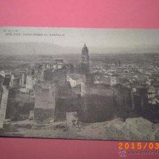 Postales: MÁLAGA VISTA DESDE EL CASTILLO - FOTO HAUSER Y MENET - . Lote 48410313