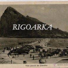 Postales: ALGECIRAS (CÁDIZ).- VISTA PARCIAL DE GIBRALTAR. Lote 48412124