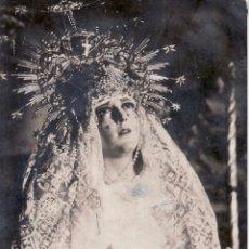 Cartes Postales: SEMANA SANTA SEVILLA - RECORTE POSTAL FOTOGRAFICA NTRA SRA MAYOR DOLOR EN SU SOLEDAD - CARRETERIA . Lote 48413039