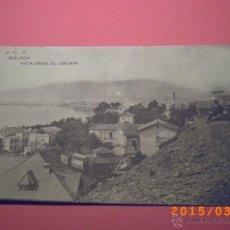 Postales: MÁLAGA - VISTA DESDE EL LIMONAR - FOTOTIPIA DE HAUSER Y MENET -. Lote 48430821