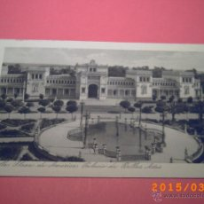 Postales: SEVILLA-EXPOSICIÓN IBERO.AMERICANA-PLAZA AMERICA PALACIO BELLAS ARTES-LUJO -GRABADO Nº 22 - R.Y.R. -. Lote 48431138