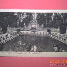Postales: SEVILLA-EXPOSICIÓN IBERO.AMERICANA-PARQUE GLORIETA DE LOS TINTEROS -GRABADO Nº 42 - R.Y.R. -. Lote 48431252