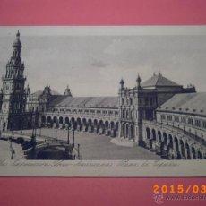 Postales: SEVILLA-EXPOSICIÓN IBERO.AMERICANA- PLAZA DE ESPAÑA -GRABADO Nº 50 - R.Y.R. -. Lote 48431308