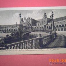 Postales: SEVILLA-EXPOSICIÓN IBERO.AMERICANA- PLAZA DE ESPAÑA -GRABADO Nº 61 - R.Y.R. -. Lote 48431338
