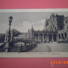 Postales: SEVILLA-EXPOSICIÓN IBERO.AMERICANA- PLAZA DE ESPAÑA -GRABADO Nº 36 - R.Y.R. -. Lote 48431521