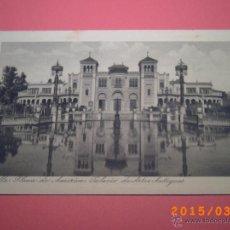 Postales: SEVILLA-EXPOSICIÓN IBERO.AMERICANA- PALACIO DE ARES ANTIGUOS -GRABADO Nº 19 - R.Y.R. -. Lote 48431656