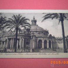 Postales: SEVILLA-EXPOSICIÓN IBERO.AMERICANA- PABELLÓN DE SEVILLA -GRABADO Nº 16 - R.Y.R. -. Lote 48431682