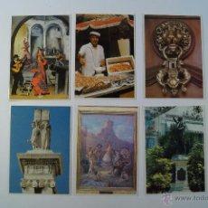 Postales: LOTE 6 POSTALES DE CADIZ DEL 94. Lote 48483216