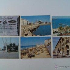 Postales: LOTE 6 POSTALES DE CADIZ DEL 94. Lote 48670483
