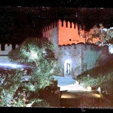 Postales: *ALMERIA* - ALCAZABA. VISTA PARCIAL NOCTURNA. / CIRCULADA 1967.. Lote 48707362