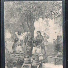 Postales: TARJETA POSTAL DE CORDOBA - UNA FUENTE EN CORDOBA. 440. HAUSER Y MENET. 1900. VER DORSO. Lote 48728014