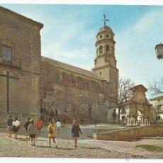 Postales: POSTAL BAEZA (JAEN) - PLAZA SANTA MARIA - ARRIBAS 1968. Lote 48739592