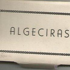 Postales: ALGECIRAS - LIBRITO PEQUEÑO DE 12 POSTALES - SIN EDITOR. Lote 48839444