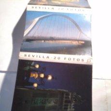 Postales: SEVILLA . 20 FOTOS. ACORDEON.. Lote 48878161