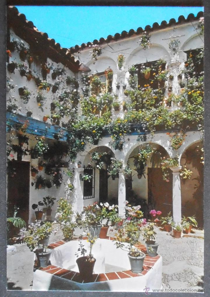 29210 Postal Sin Circular Patio Andaluz Cordob Buy Postcards From