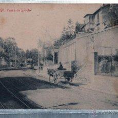 Cartes Postales: TARJETA POSTAL DE MALAGA. PASEO DE SANCHA. THOMAS.. Lote 49071224