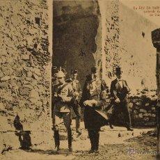 Postales: EL REY EN TARIFA - FOTOGRAFIA IMPRESA - SIN CIRCULAR Y DORSO DIVIDIDIDO. Lote 49185082