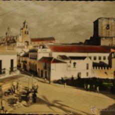 Postales: UTRERA - SEVILLA - VISTA DEL CINE ALCAZAR - FOTOGRAFIA IMPRESA CIRCULADA Y DORSO DIVIDIDO. Lote 49214400
